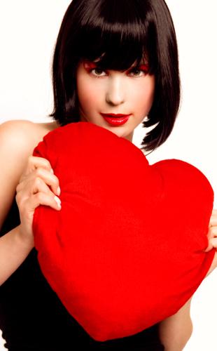 femme coeur amour