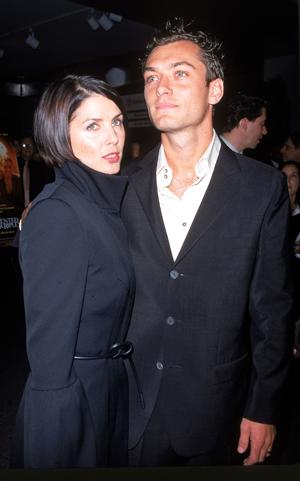 Jude Law et femme