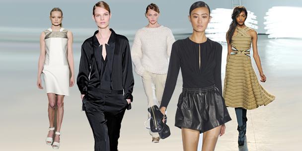 tendances minimalismes automne 2011