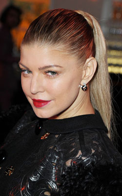 cheveux maquillage fergie