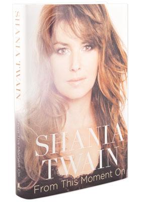 Shania Twain bouquin 300