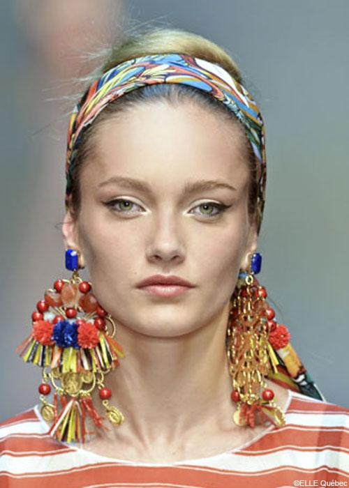 Les 10 tendances coiffure du printemps 2013