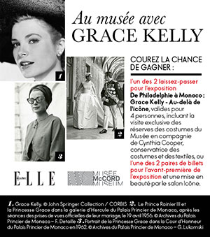 concours grace kelly