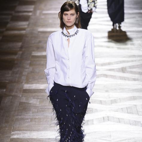 Tendances mode automne-hiver 2013-2014: le look féminin-masculin