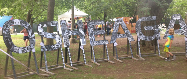 L'art au festival Osheaga