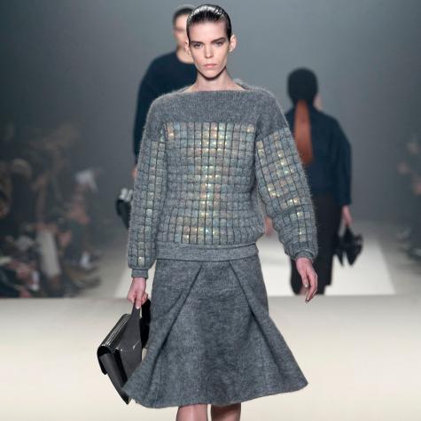 Tendances mode automne-hiver 2013-2014: le gris