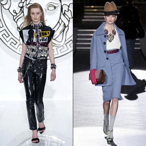 tendances mode automne hiver punk et années 1940