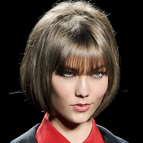 Tendances cheveux automne-hiver 2013-2014: la frange