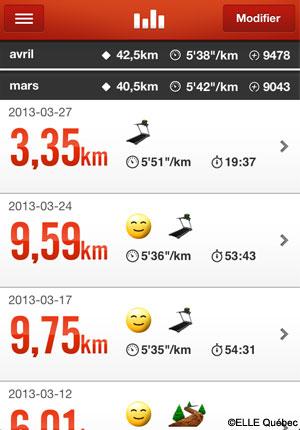 Nike+ pour la course à pied - appli techno