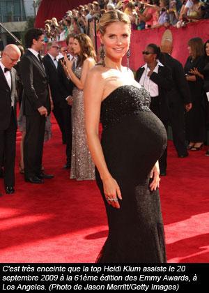 Heidi Klum enceinte