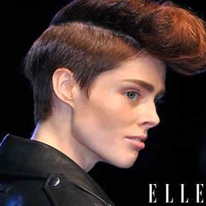 cheveux punk contemporain