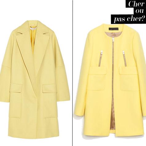 manteau jaune carrousel