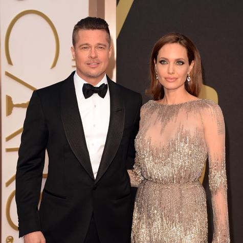 Brad Pitt et Angelina Jolie Oscars 2014