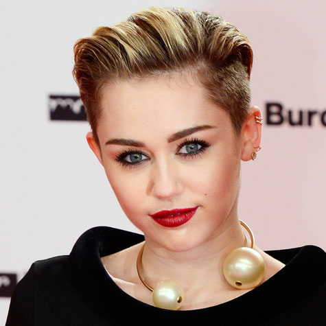 Miley Cyrus cheveux