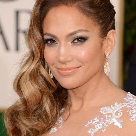 Jennifer Lopez cheveux ombré