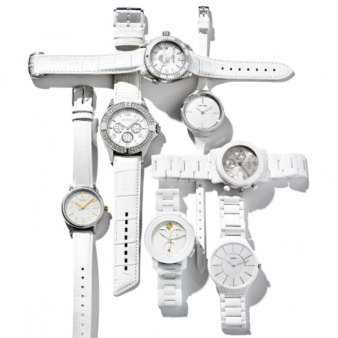 montres-blanches