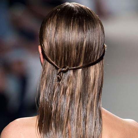 Cheveux New York Fashion Week spring 2015