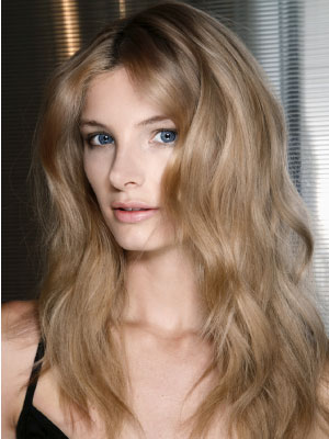 Cheveux surfeuse californienne Blumarine