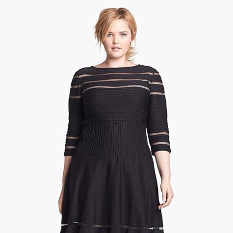 robe noire taille plus