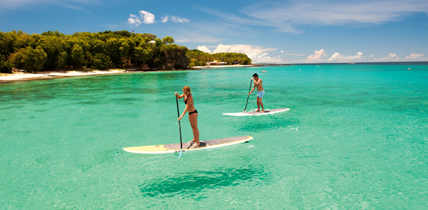 St-Vincent et les grenadines paddleboard