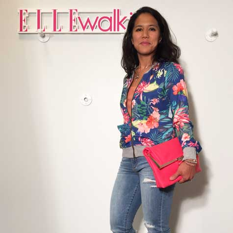 Walk in jean déchiré
