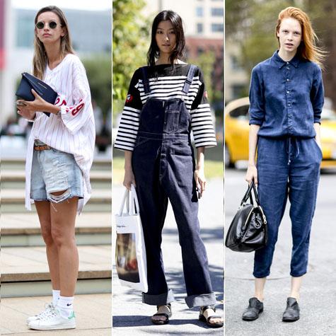 Street style : 30 façons de porter le denim cet été