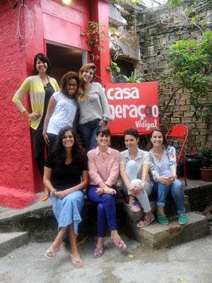 Brésil école mode favelas