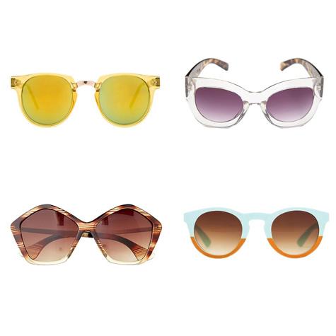 Shopping : lunettes de soleil à moins de 50$