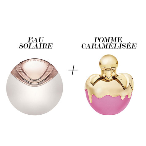 Parfums layering