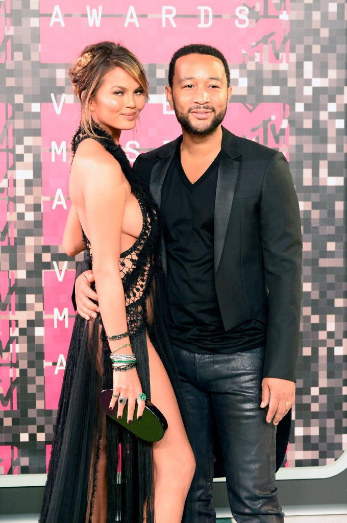MTV Video Music Awards 2015: Chrissy Teigen et John Legend