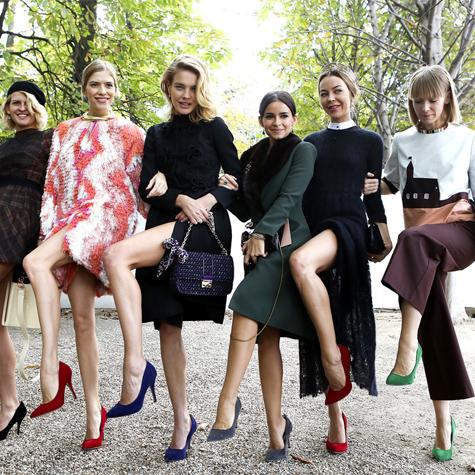 Fashion Week: les bandes de filles incontournables