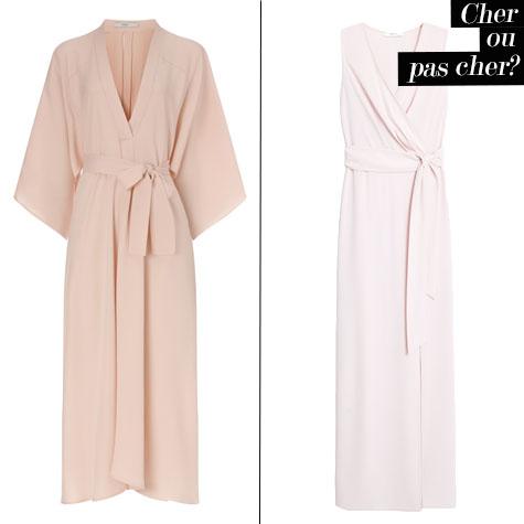 cher ou pas cher: la robe kimono