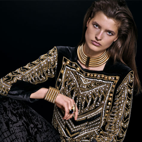 Balmain x H&M Lookbook