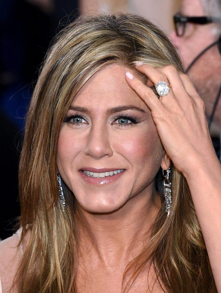 Bague de fiançailles Jennifer Aniston