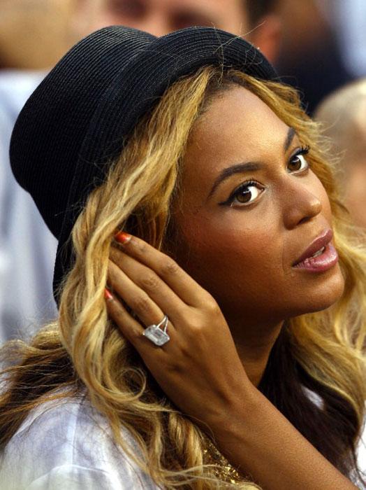 Bague de fiançailles Beyonce