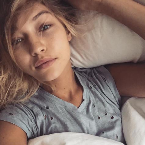 Stars sans maquillage sur Instagram