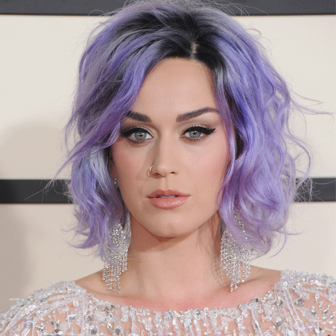 Katy Perry Cheveux Lilas