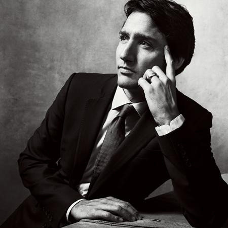 Le premier ministre Justin Trudeau dans le <i>Vogue</i> américain!
