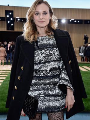 Rencontre avec Diane Kruger au défilé Chanel Haute Couture
