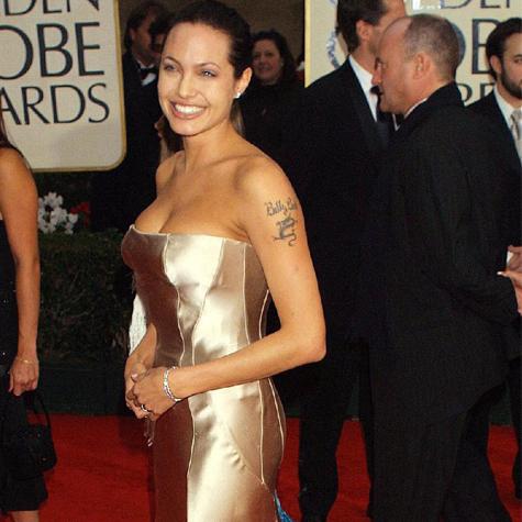 Golden Globes robes dorées