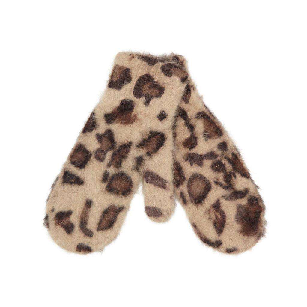 Accessoires d'hiver: Mitaine à imprimé léopard, Aldo