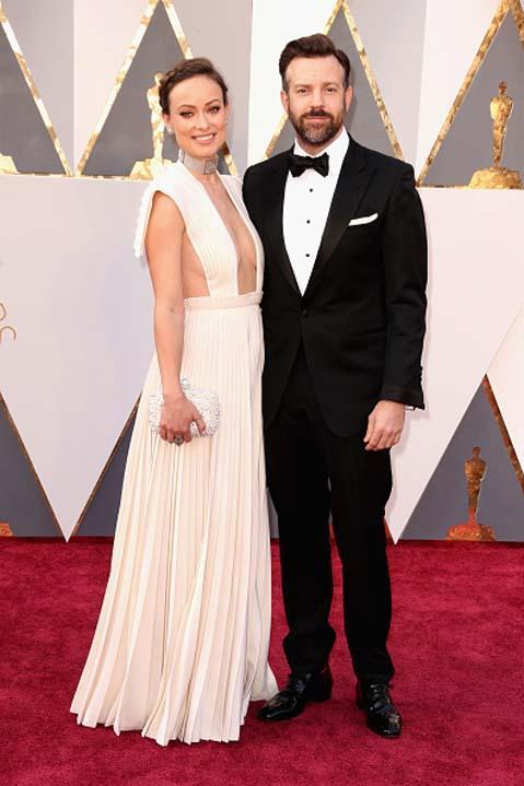 Les couples des Oscars 2016: Olivia Wilde et Jason Sudeikis