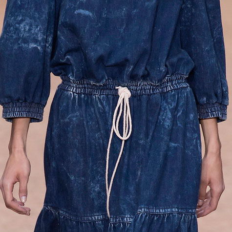 Tendances mode printemps-été 2016: le denim