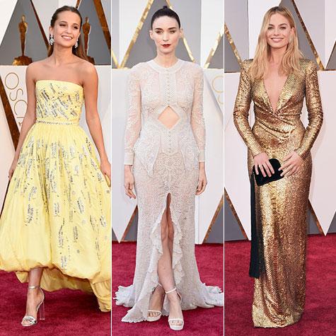 Oscars 2016 robes