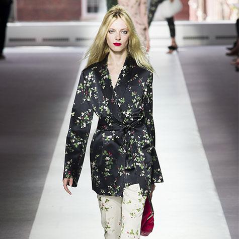 défilé 2016 pyjama (dandy) topshop