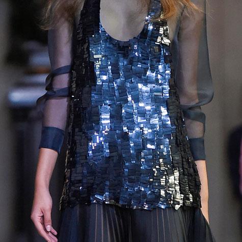Tendances mode printemps-été 2016: tout ce qui brille