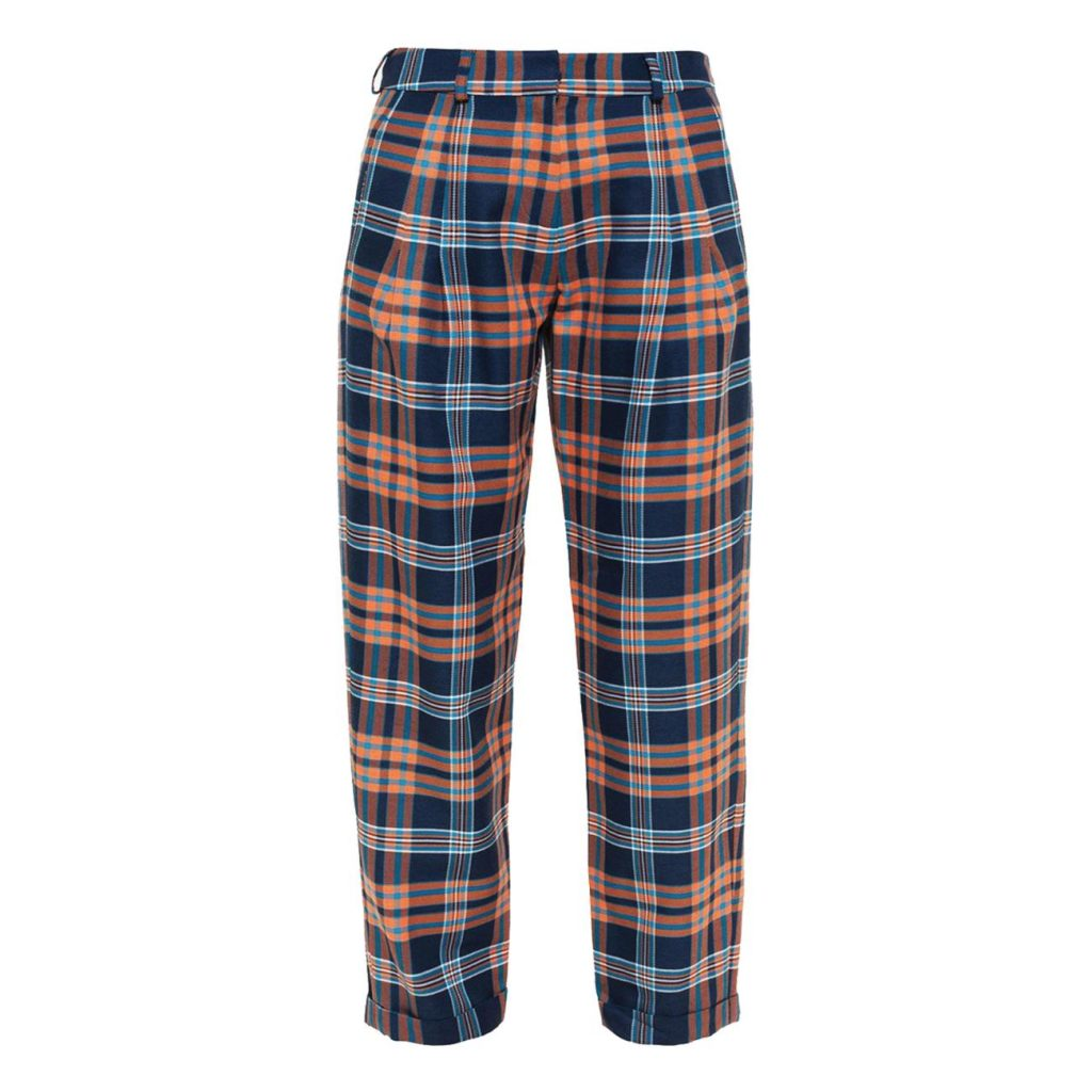 Pantalon en polyester, viscose et laine, de House of Holland