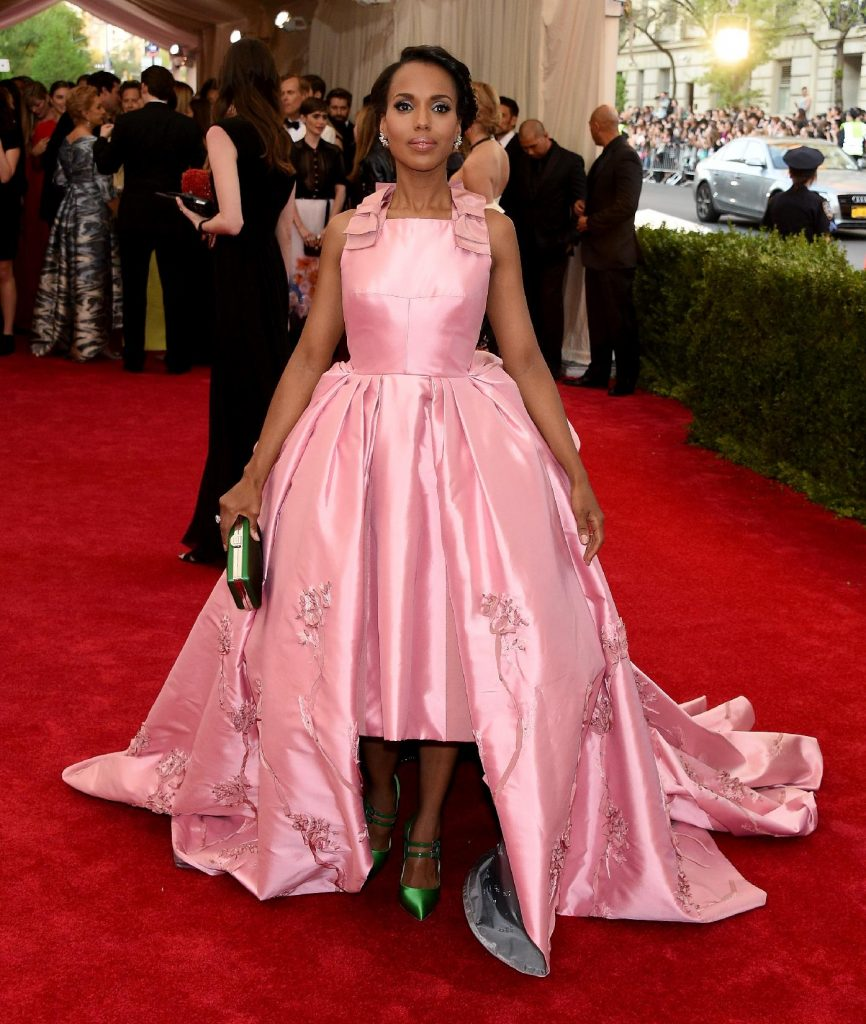Les stars sur le tapis rouge du MET Gala: Kerry Washington