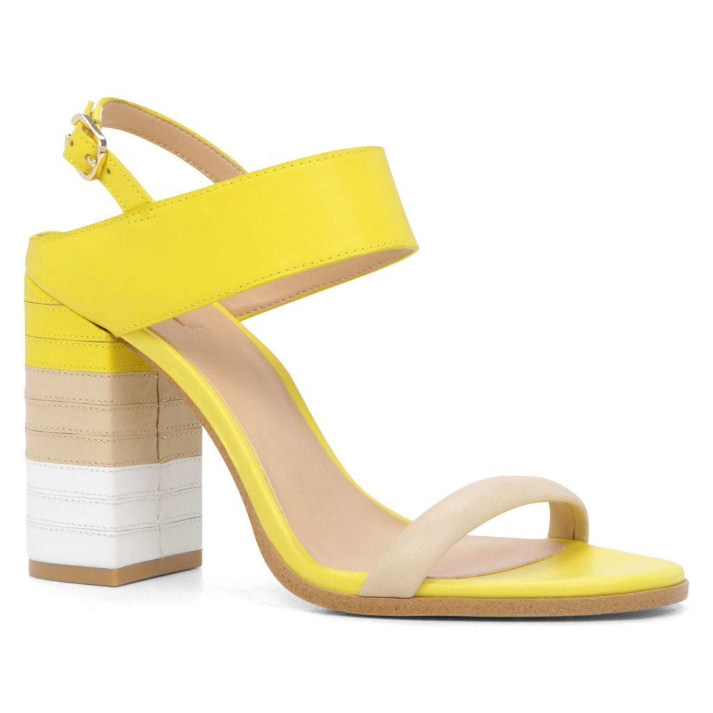 Sandales DALIAS jaune pâle signées ALDO.