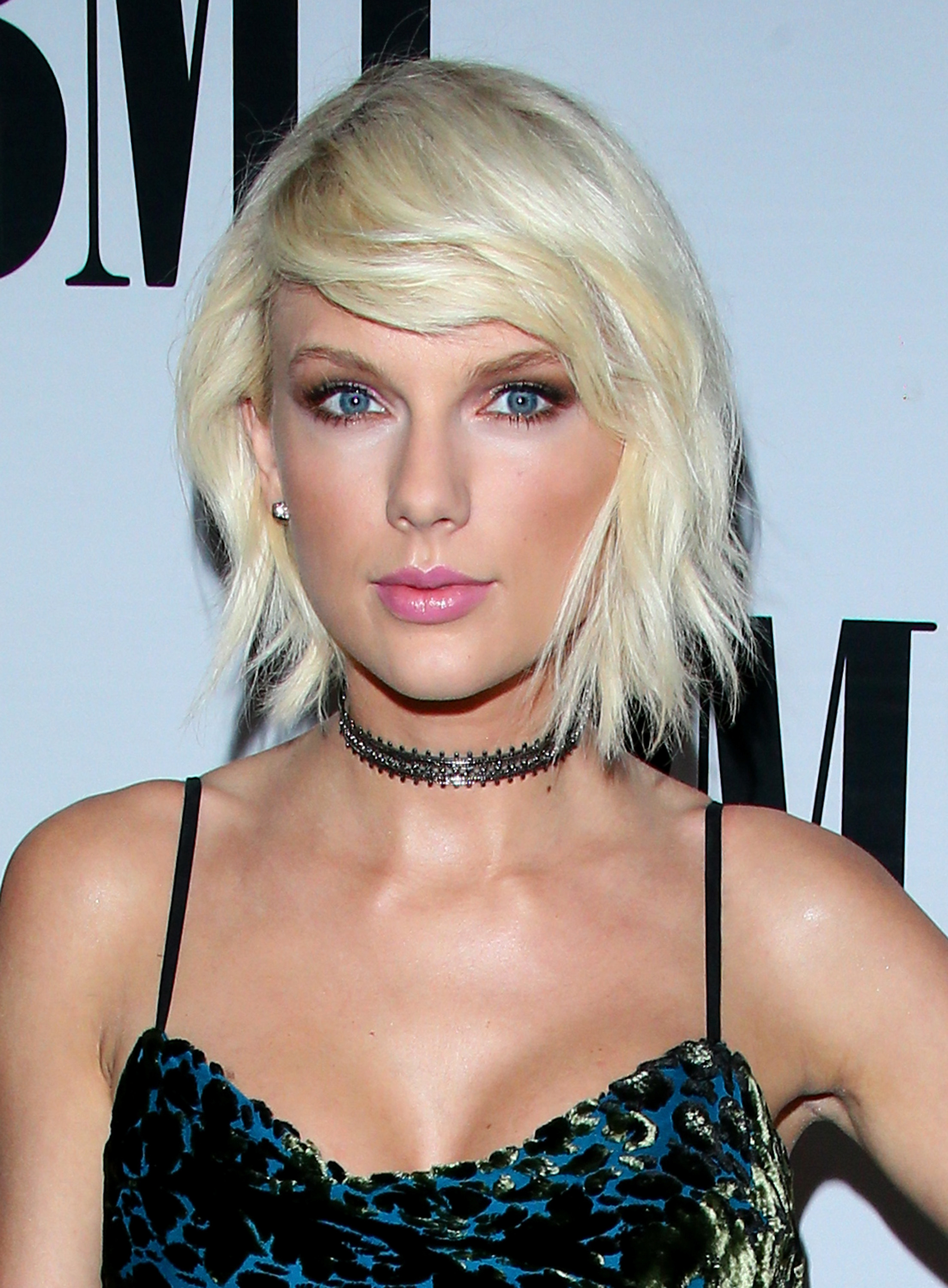 Taylor Swift en blond platine
